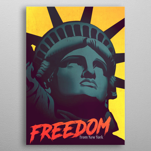Fascinating  metal poster designed with love by eddie. Decorate your space with this design & find daily inspiration in it. metal poster