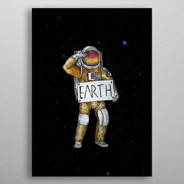 This marvelous metal poster designed by kiryadi to add authenticity to your place. Display your passion to the whole world. metal poster