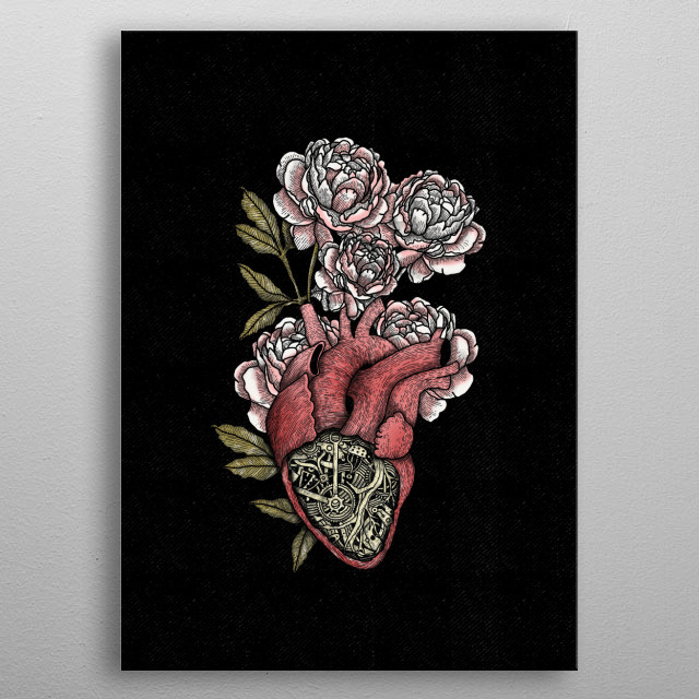 High-quality metal print from amazing Fineart collection will bring unique style to your space and will show off your personality. metal poster