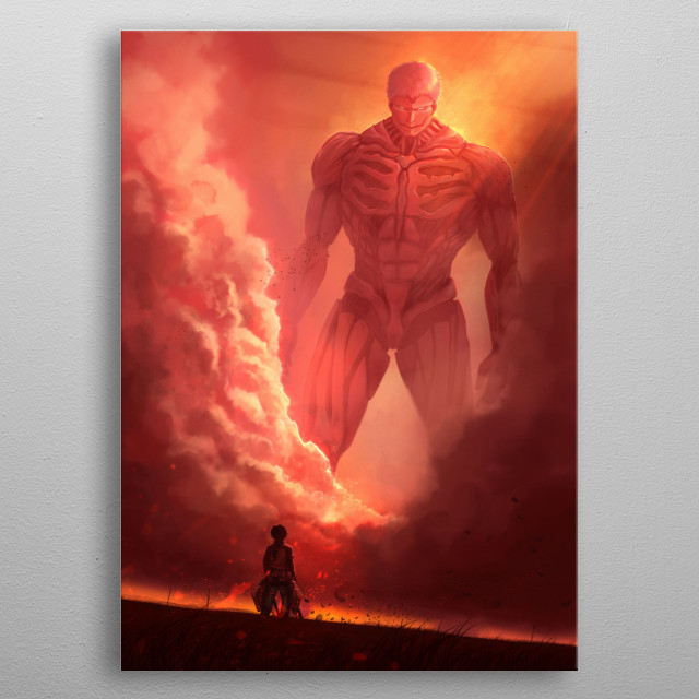 Fascinating metal poster designed by Jason Simart. Displate has a unique signature and hologram on the back to add authenticity to each design. metal poster