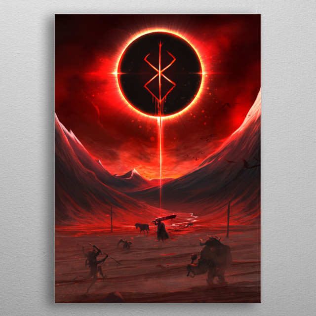 This marvelous metal poster designed by jasonsimard to add authenticity to your place. Display your passion to the whole world. metal poster