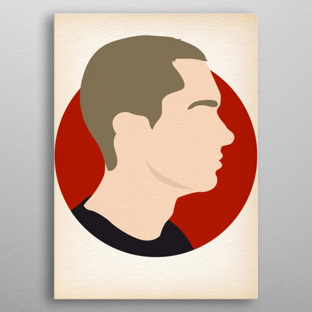 Eminem - Hip Hop Heads Minimalist metal poster