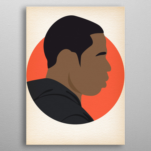 Jay Z - Hip Hop Heads Minimalist metal poster