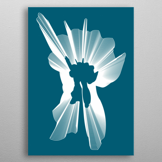 Fascinating  metal poster designed with love by wengus. Decorate your space with this design & find daily inspiration in it. metal poster