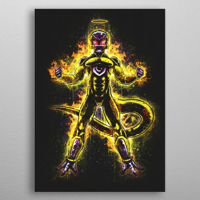 A Heart of Pure Gold metal poster