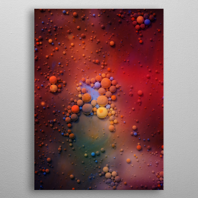 High-quality metal print from amazing Ocular collection will bring unique style to your space and will show off your personality. metal poster