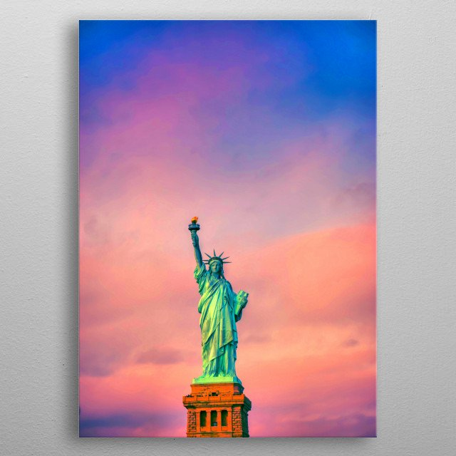 This marvelous metal poster designed by haroulita to add authenticity to your place. Display your passion to the whole world. metal poster