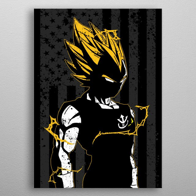 High-quality metal print from amazing Us Anime collection will bring unique style to your space and will show off your personality. metal poster