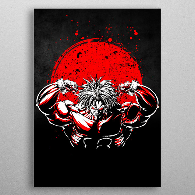 Fascinating metal poster designed by RB Golden. Displate has a unique signature and hologram on the back to add authenticity to each design. metal poster