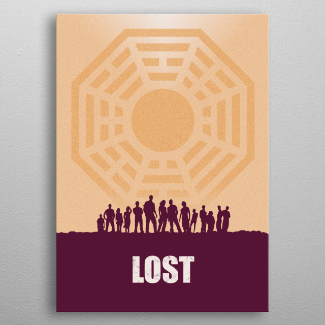 Previously, On Lost metal poster