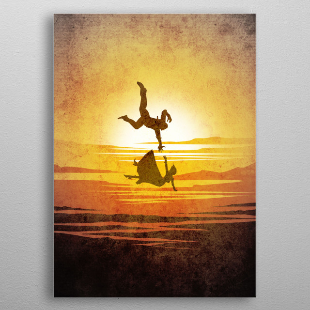 High-quality metal print from amazing Minimalist Video Game collection will bring unique style to your space and will show off your personality. metal poster