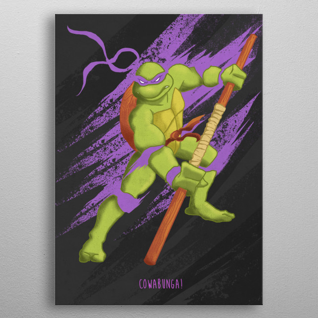 Donatello  metal poster