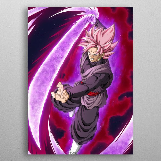High-quality metal print from amazing Dragon Ball collection will bring unique style to your space and will show off your personality. metal poster