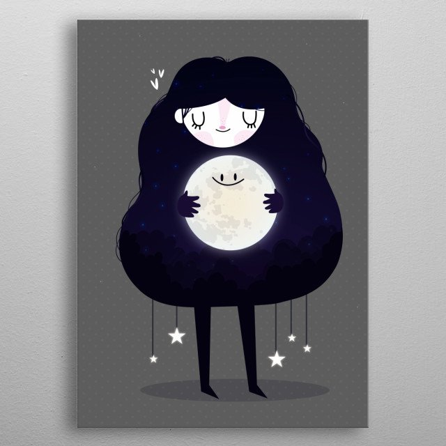 High-quality metal print from amazing Children collection will bring unique style to your space and will show off your personality. metal poster