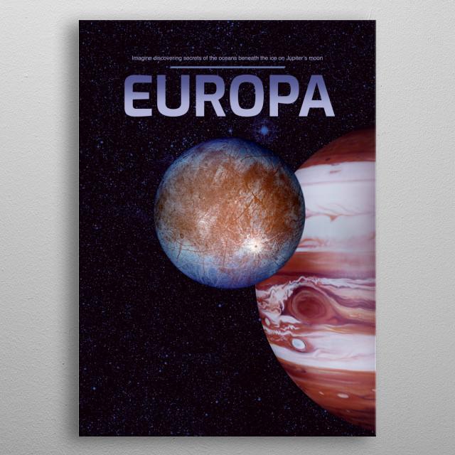 Europa metal poster