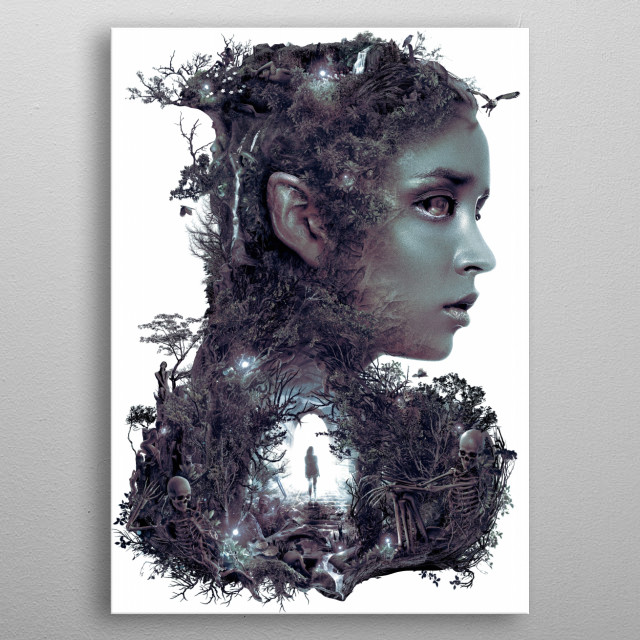 Fascinating  metal poster designed with love by barrettbiggers. Decorate your space with this design & find daily inspiration in it. metal poster