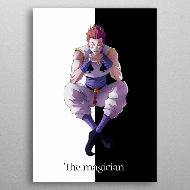 Hisoka the Magician metal poster