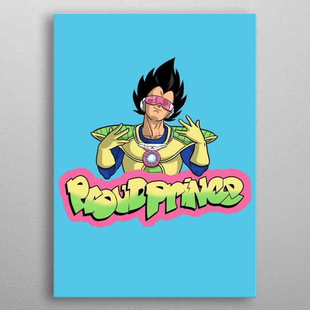 Proud Prince metal poster