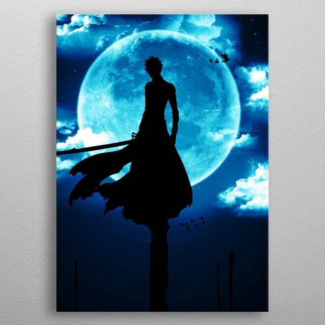 The shinigami metal poster