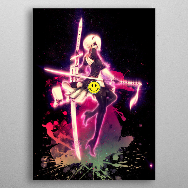 Nier Automata / Renegade  metal poster