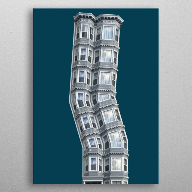 996 • Crooked Dream metal poster