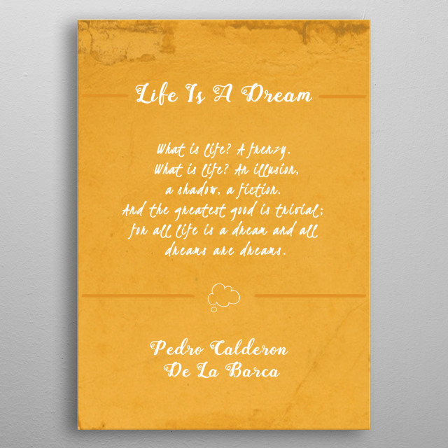 High-quality metal print from amazing Books Quotes collection will bring unique style to your space and will show off your personality. metal poster