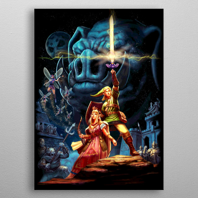 High-quality metal print from amazing Create Or Destroy collection will bring unique style to your space and will show off your personality. metal poster