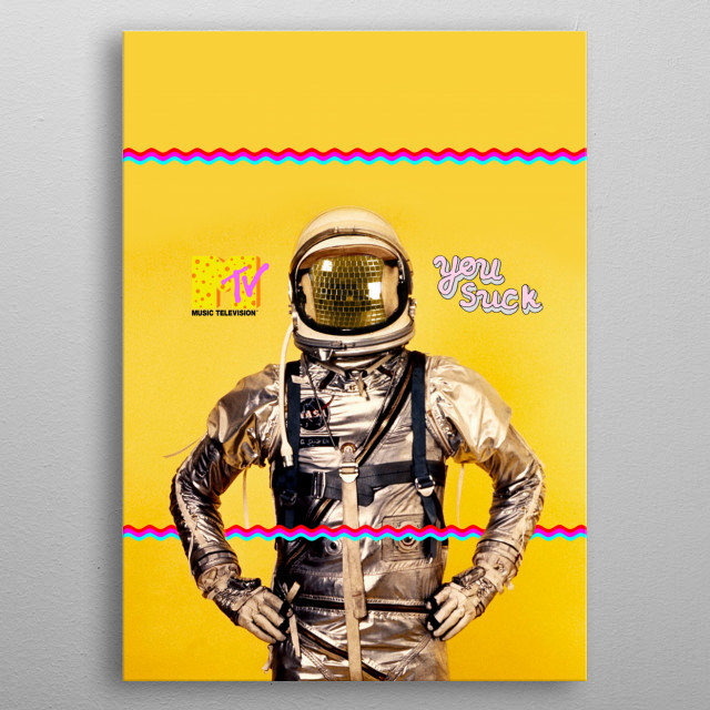 Fascinating  metal poster designed with love by vartanyanares. Decorate your space with this design & find daily inspiration in it. metal poster