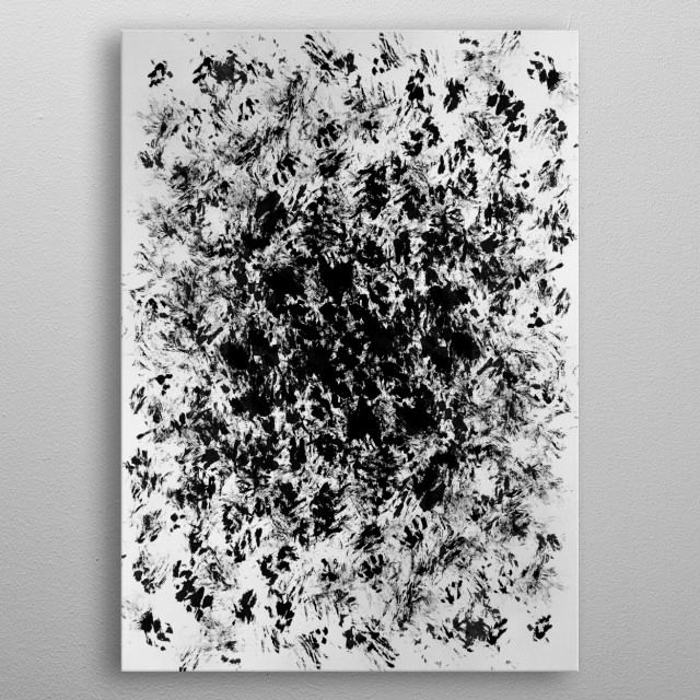 Fascinating  metal poster designed with love by IRIS_AZ. Decorate your space with this design & find daily inspiration in it. metal poster