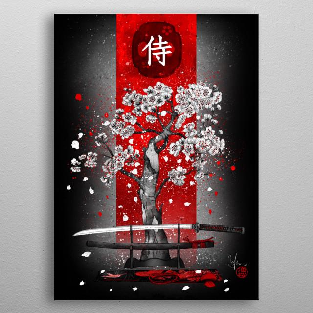the way of the samurai metal poster