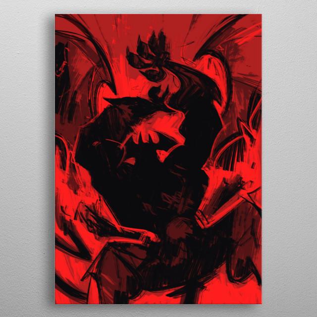 Amon rising! metal poster