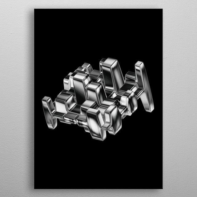 High-quality metal wall art meticulously designed by mostwrongking would bring extraordinary style to your room. Hang it & enjoy. metal poster