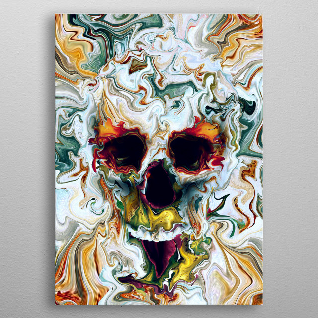 This marvelous metal poster designed by rizapeker to add authenticity to your place. Display your passion to the whole world. metal poster