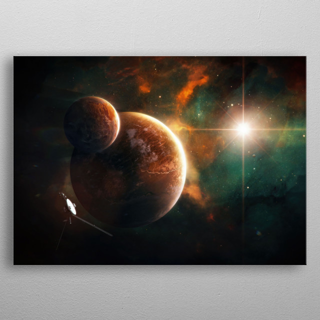 Concurrence metal poster