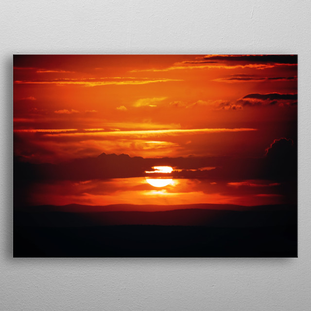 High-quality metal print from amazing Nature Photography collection will bring unique style to your space and will show off your personality. metal poster