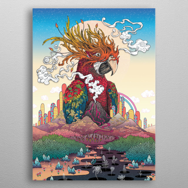 Borderlands metal poster