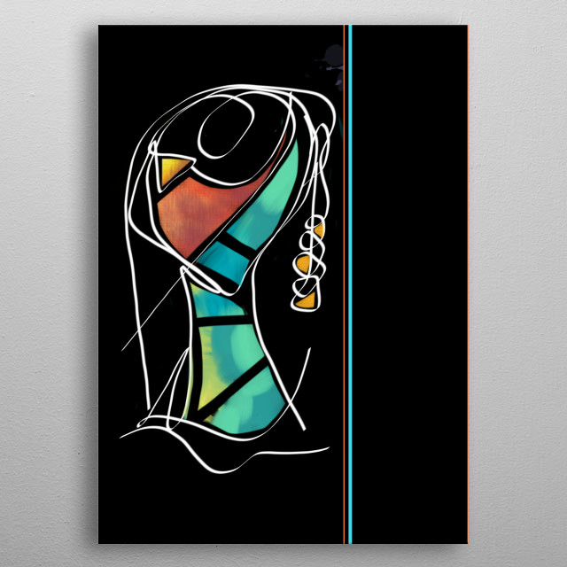 High-quality metal wall art meticulously designed by ShibaniC would bring extraordinary style to your room. Hang it & enjoy. metal poster