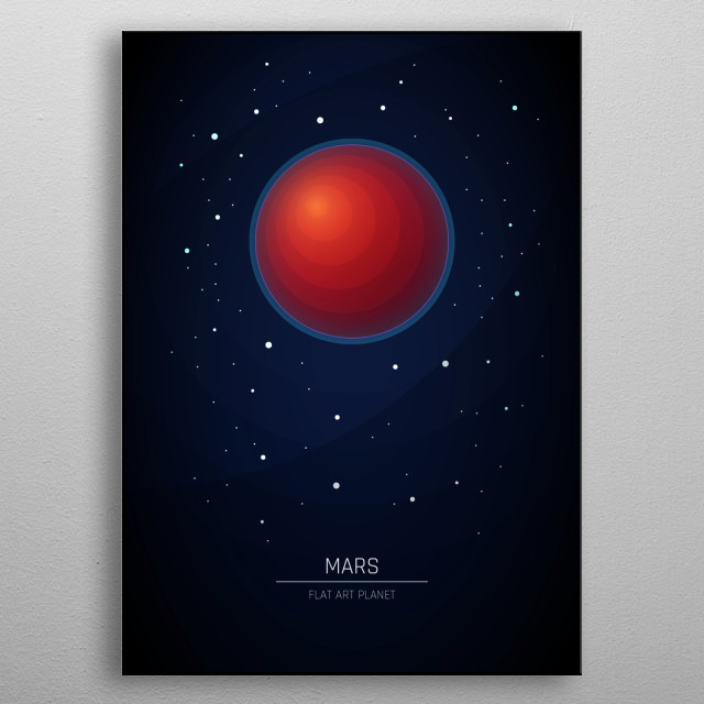Fascinating metal poster designed by Marco Lepore. Displate has a unique signature and hologram on the back to add authenticity to each design. metal poster