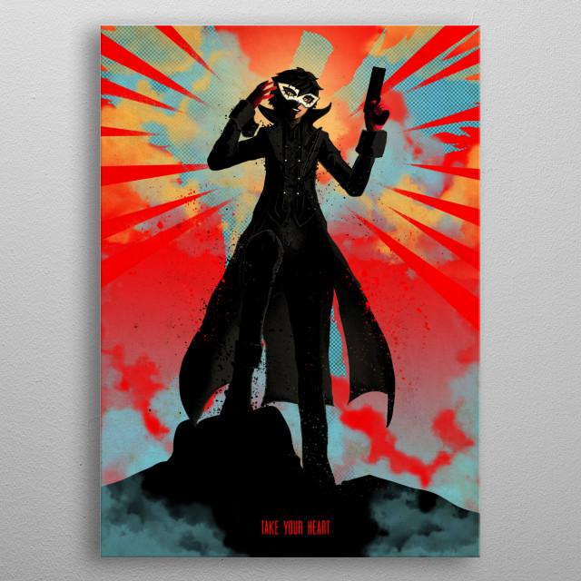The Joker metal print metal poster