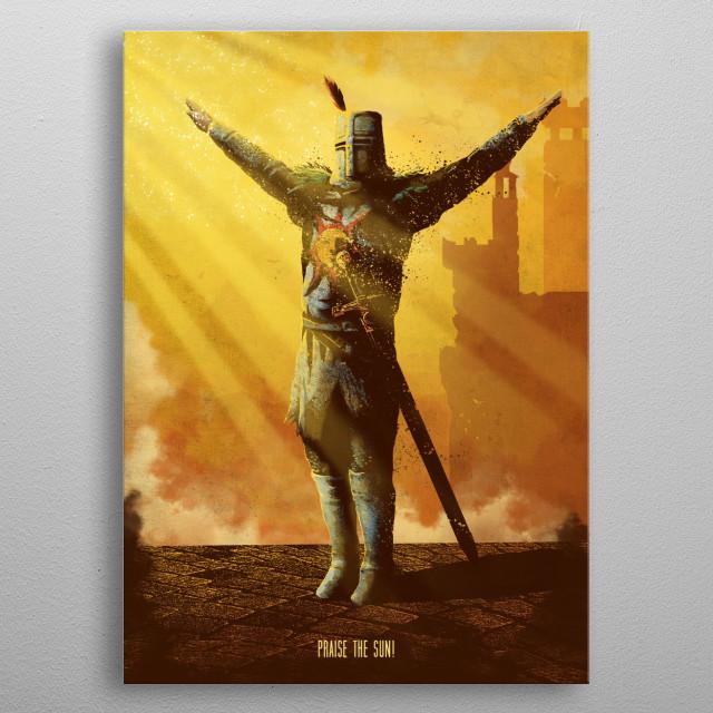 Dark Souls metal print metal poster
