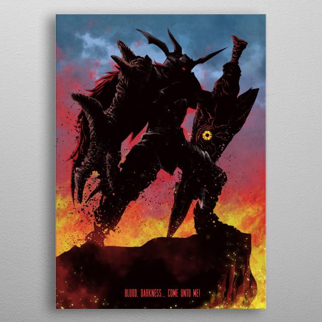 Soul Calibur Metal Print metal poster