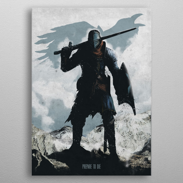 Chosen Undead metal poster