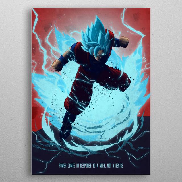 Dragon Ball metal print metal poster