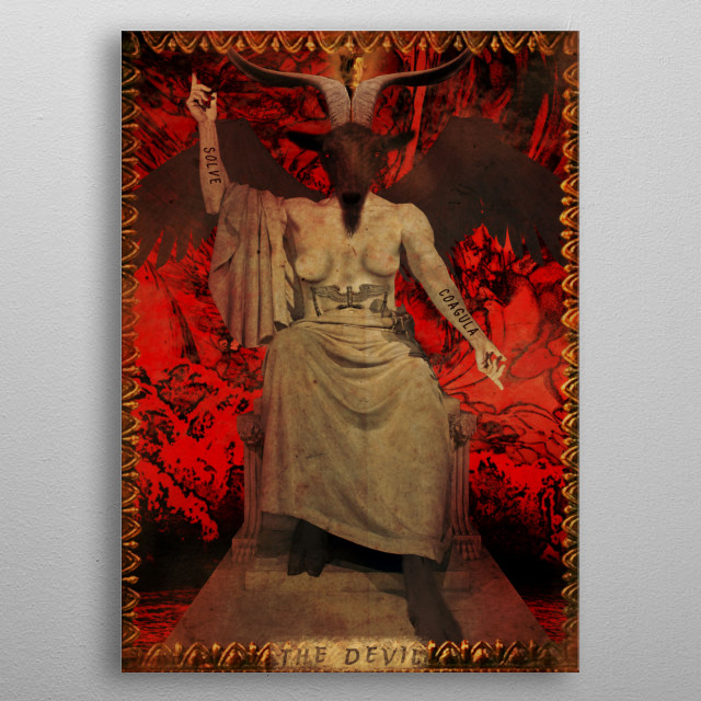 High-quality metal print from amazing Whimsical Vigilante Studios collection will bring unique style to your space and will show off your personality. metal poster