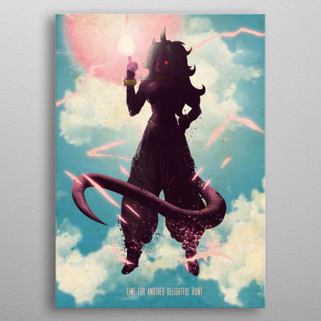 Android 21 metal poster