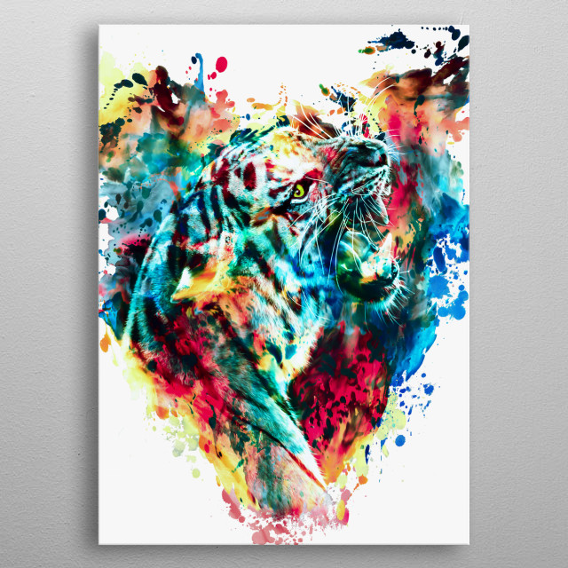 Fascinating  metal poster designed with love by rizapeker. Decorate your space with this design & find daily inspiration in it. metal poster