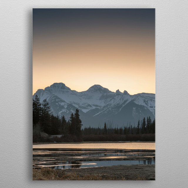 This marvelous metal poster designed by schoolpost to add authenticity to your place. Display your passion to the whole world. metal poster