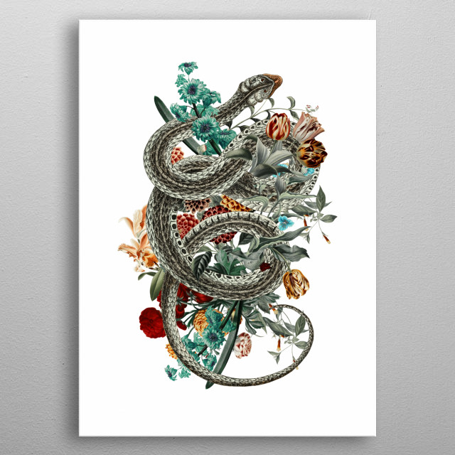 Fascinating metal poster designed by HB STUDIO. Displate has a unique signature and hologram on the back to add authenticity to each design. metal poster