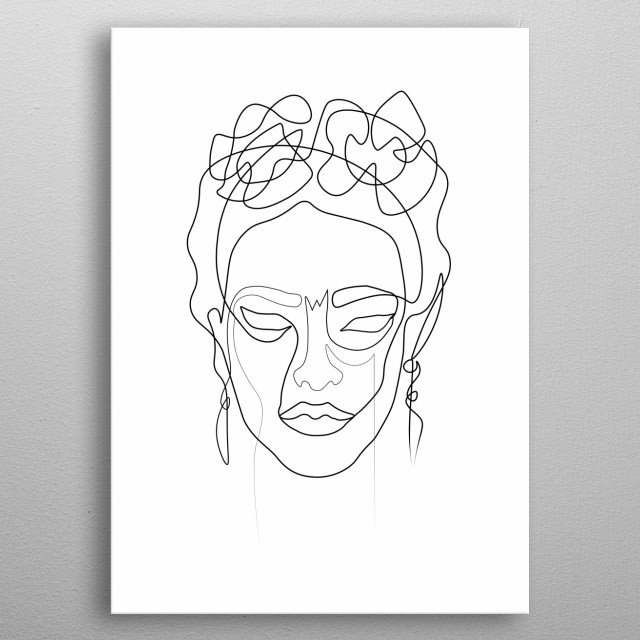 High-quality metal print from amazing Minimalism collection will bring unique style to your space and will show off your personality. metal poster