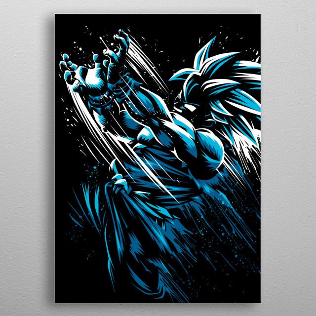 Kame Ink metal poster